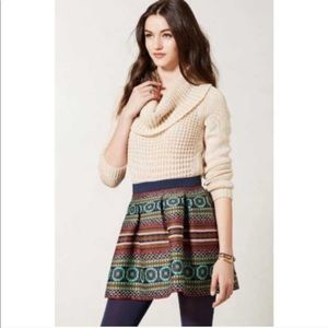 Anthropologie Nomad Norman Caper Skirt Size 10